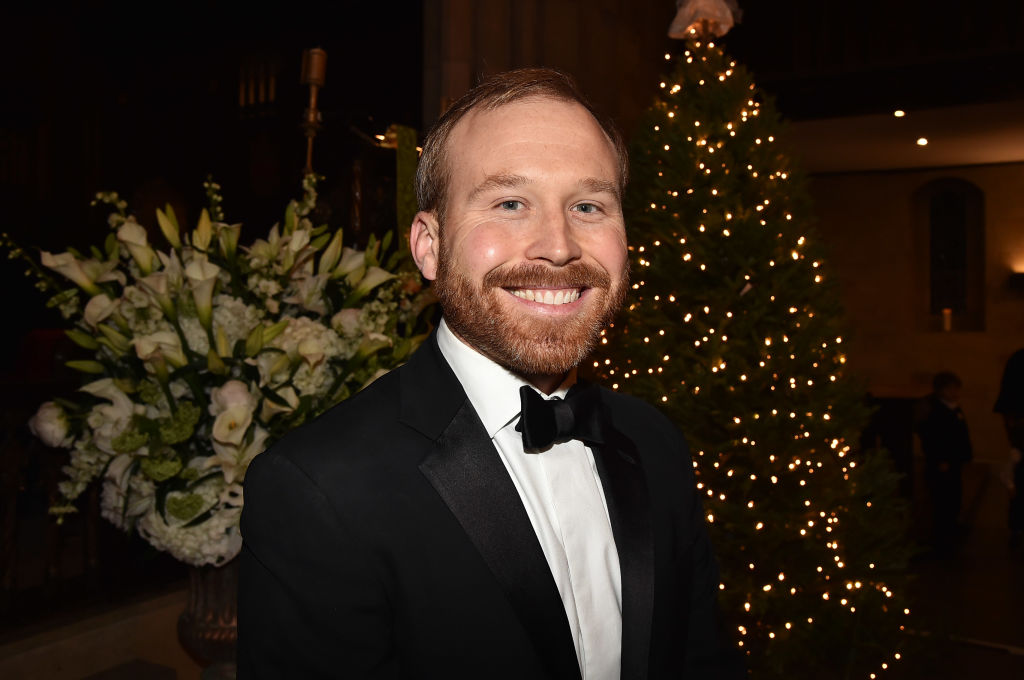 Pierce Bush attends the wedding of Sharon Bush and Robert Murray at Central Presbyterian Church on Nov. 30, 2019 in New York City.