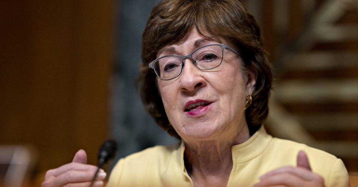 Республиканская партия сенатор Сьюзен Коллинз запускает кампанию по переизбранию центристов thumbnail