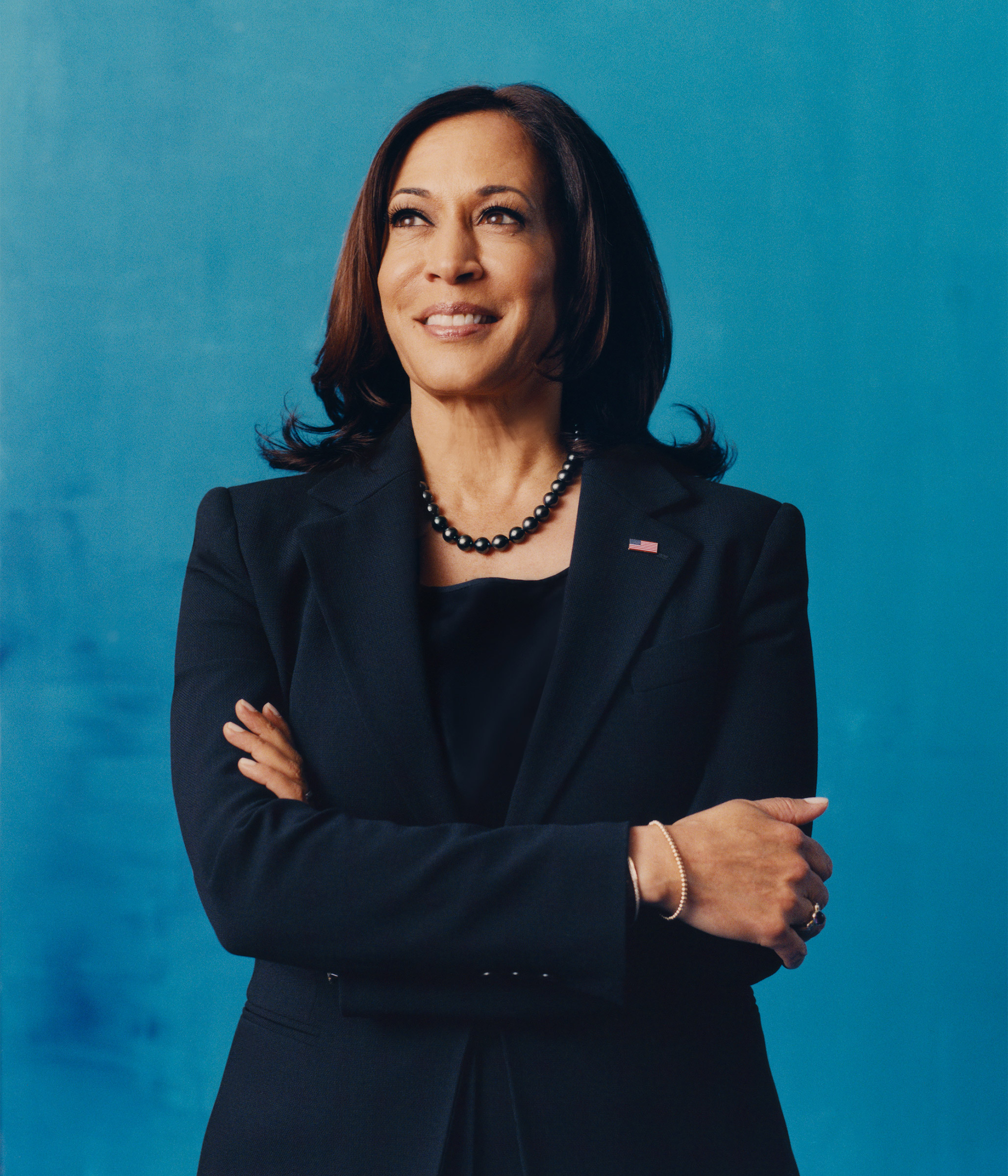 Vice President–elect Kamala Harris photographed in Wilmington, Del., on Dec. 7