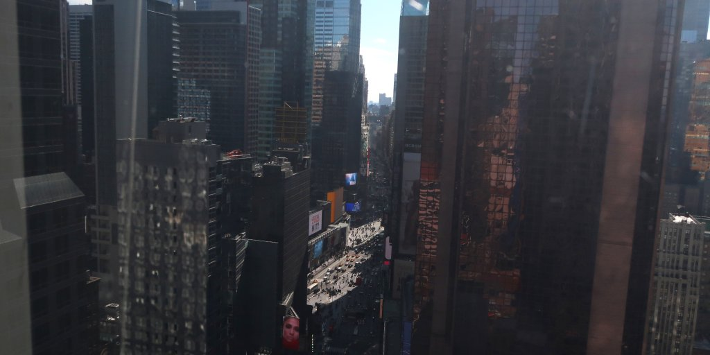 Woman Dies After Being Hit by Falling Building Debris Near Times Square