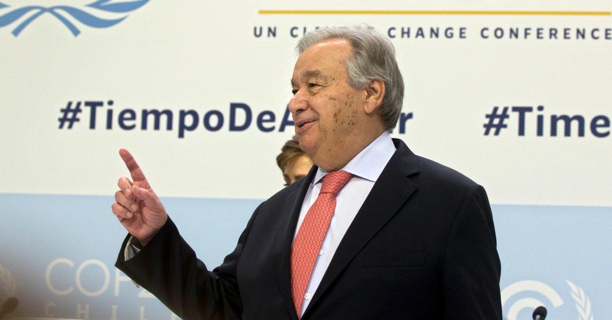 """Усилия по предотвращению изменения климата во всем мире """"совершенно неадекватны"""", предупреждает глава США thumbnail"""