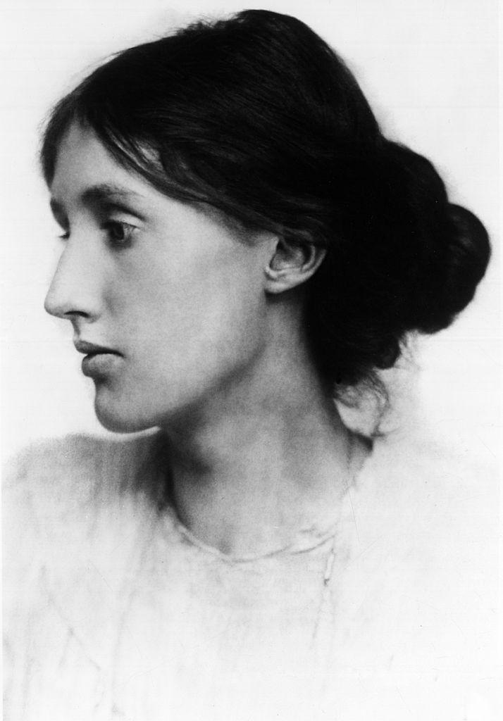 Portrait of British writer Virginia Woolf. 1900s