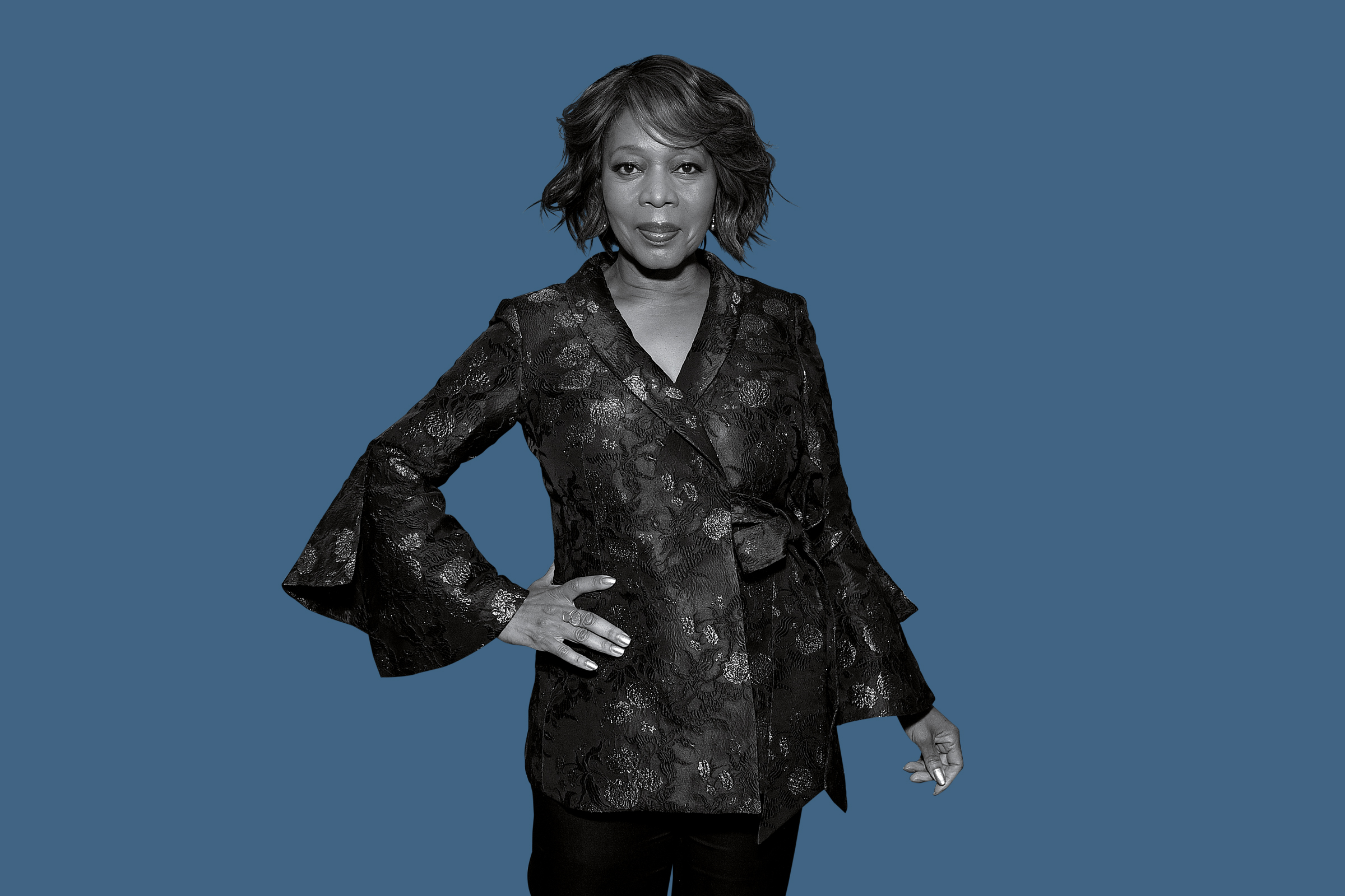 It's so weird that nobody ever rats me out about how wacky my life can be —Alfre Woodard