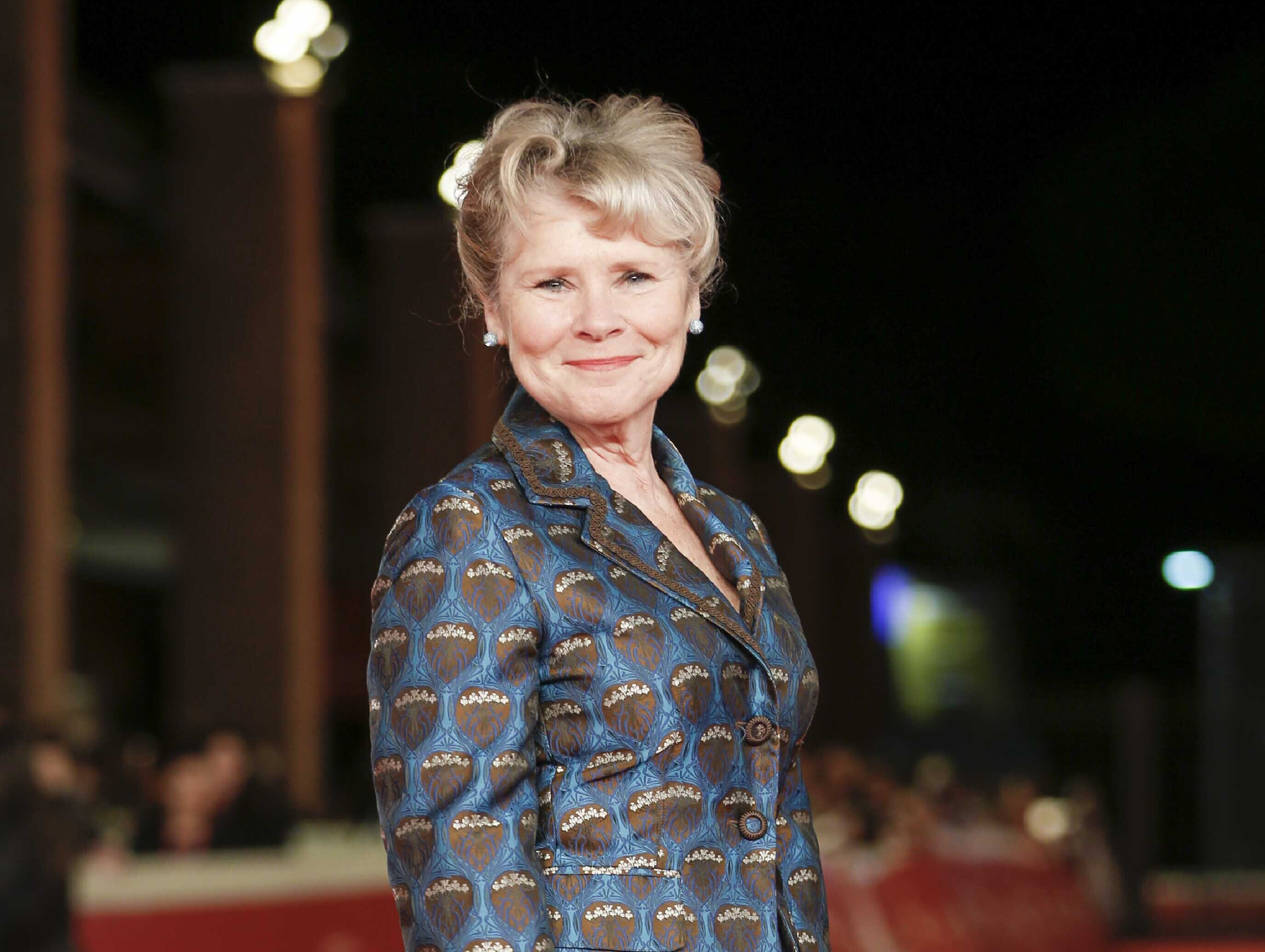 Actress Imelda Staunton walks on the red carpet for the movie  Downton Abbey  at the Rome Film Fest in Rome on Oct. 19, 2019. Staunton has been tapped to be the last actress to play Queen Elizabeth II in the Netflix series  The Crown.