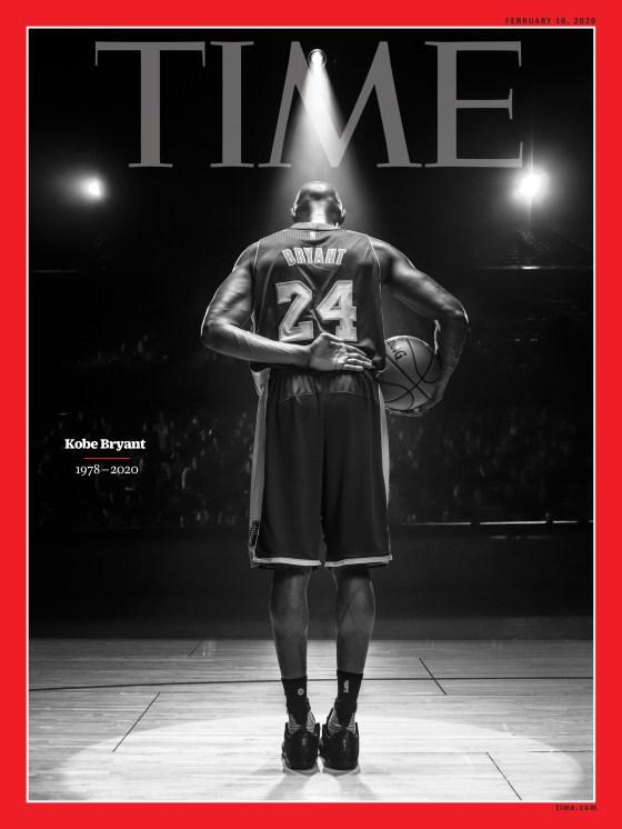 Kobe Bryant Time Magazine Cover