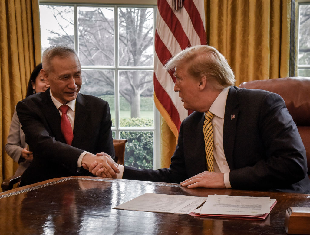 Chinese Vice Premier Liu He, China's top trade negotiator during with the U.S., will travel to Washington to sign phase one of the new trade deal. He previously met with President Donald Trump in April 2019.