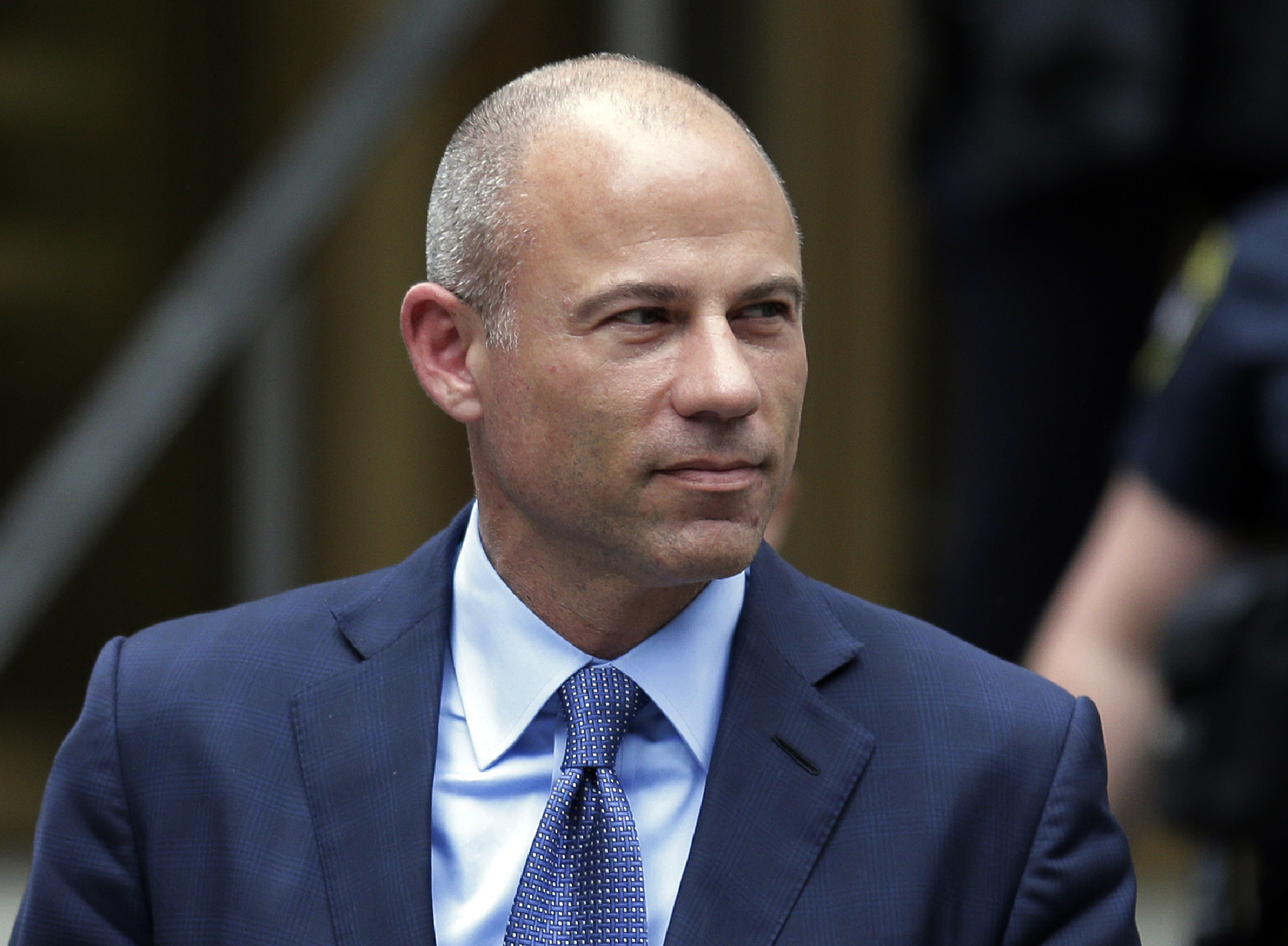 In this May 28, 2019, file photo, California attorney Michael Avenatti leaves a courthouse in New York following a hearing.