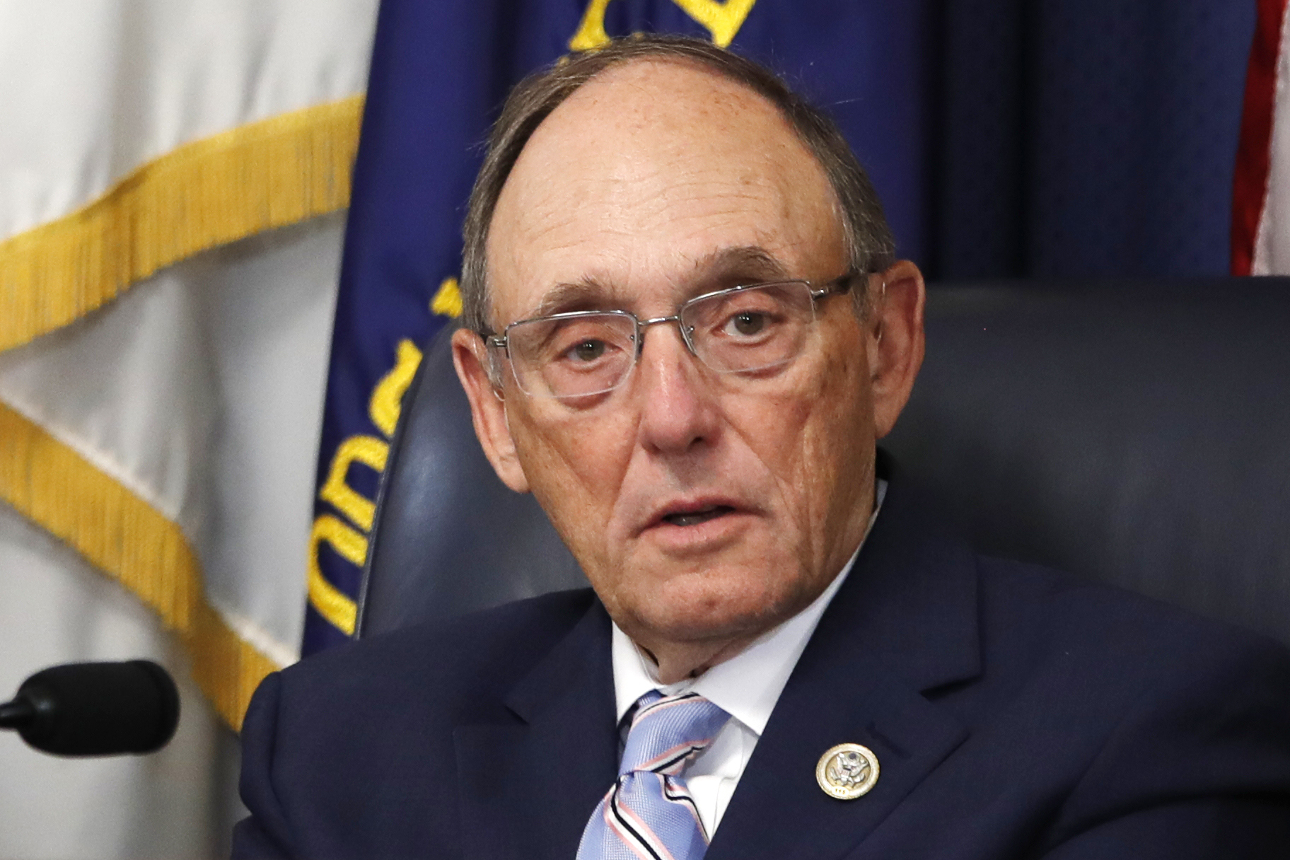 House Veterans Affairs Chair Rep. Phil Roe, R-Tenn., speaks during a subcommittee hearing about the Accountability and Whistleblower Protection Act on Capitol Hill in Washington on July 17, 2018.