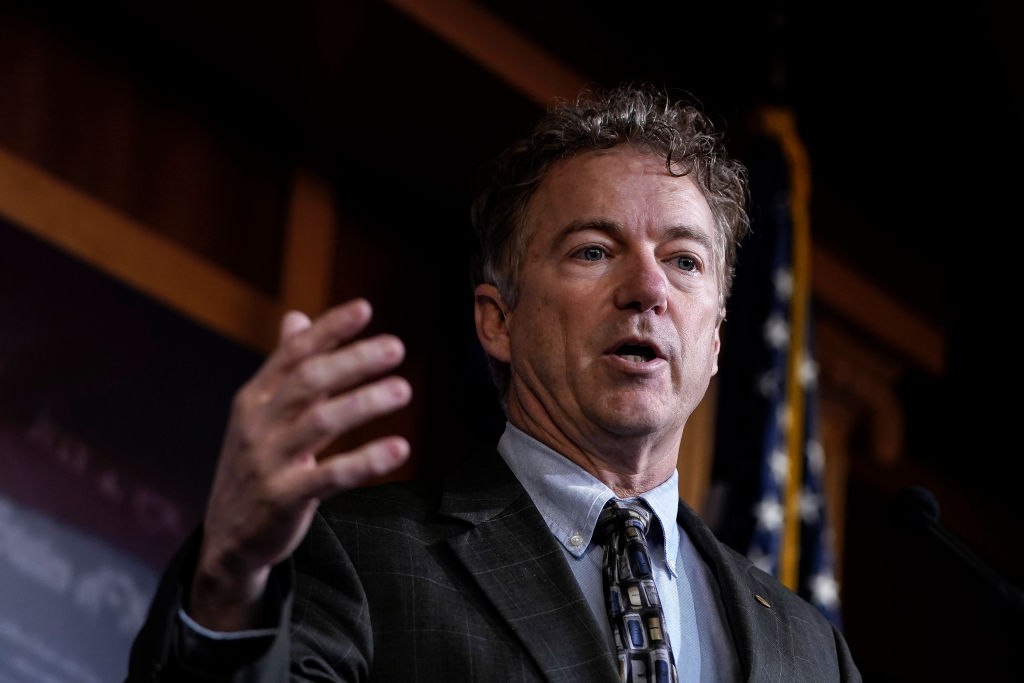 Chief Justice John Roberts Declines to Read Rand Paul's Impeachment Question Naming the Whistleblower