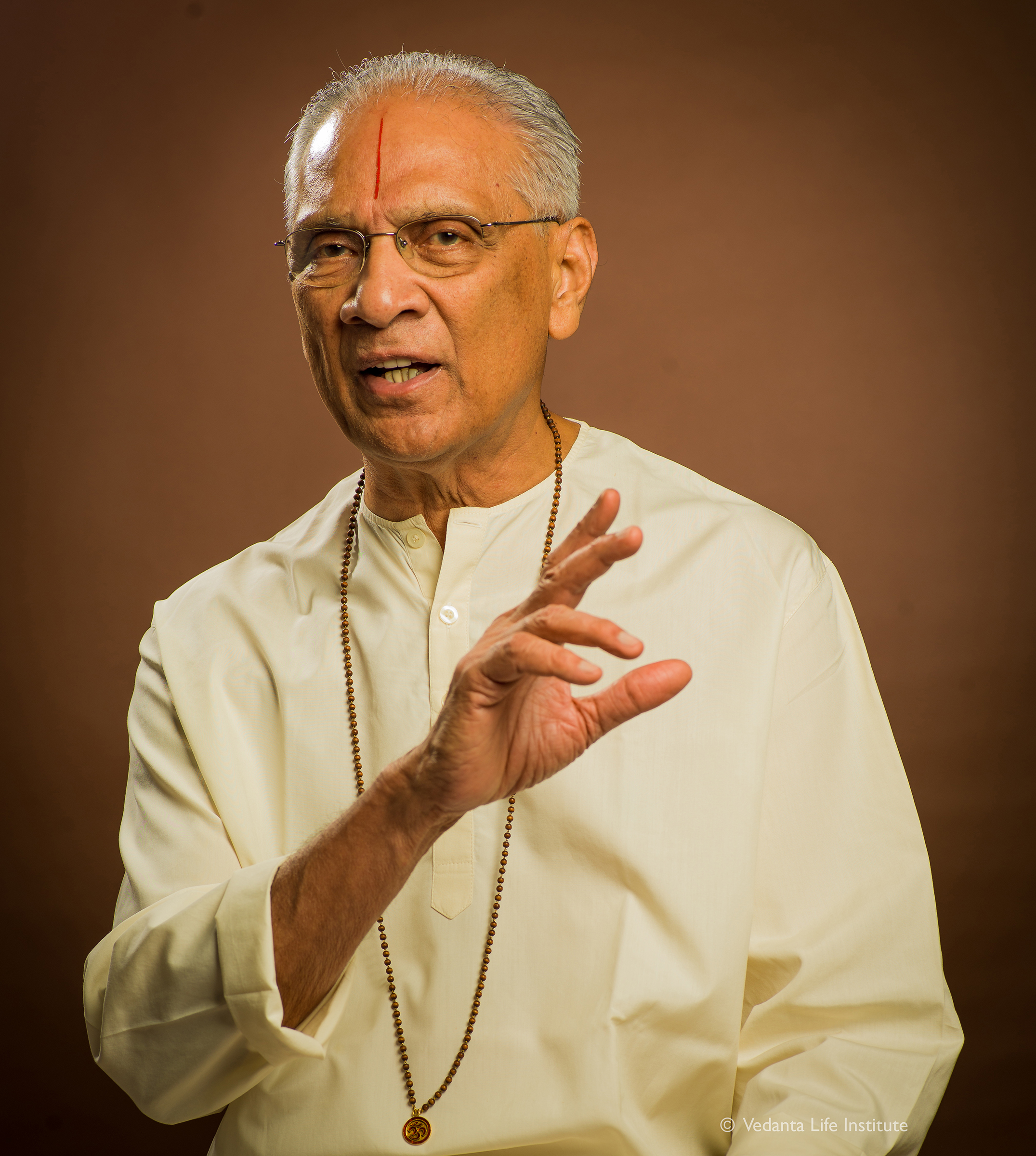 Swami Parthasarathy seen here in March 2013.