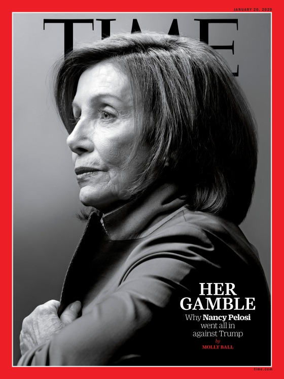 Nancy Pelosi Gamble Time Magazine Cover