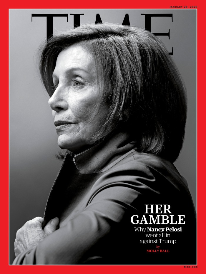 Nancy Pelosi Gamble Time Magazine Cover