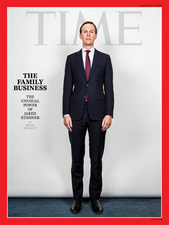 Jared Kushner The Family Business Time Magazine Cover