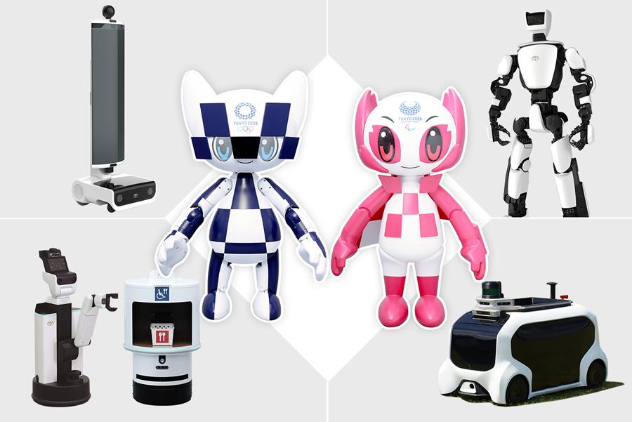 Роботы будут очень занятыми помощниками на Олимпийских играх 2020 года. Вот все, что они делают. thumbnail