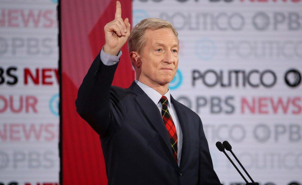 Миллиардер Том Стейер стал шестым кандидатом на участие в январских демократических дебатах thumbnail