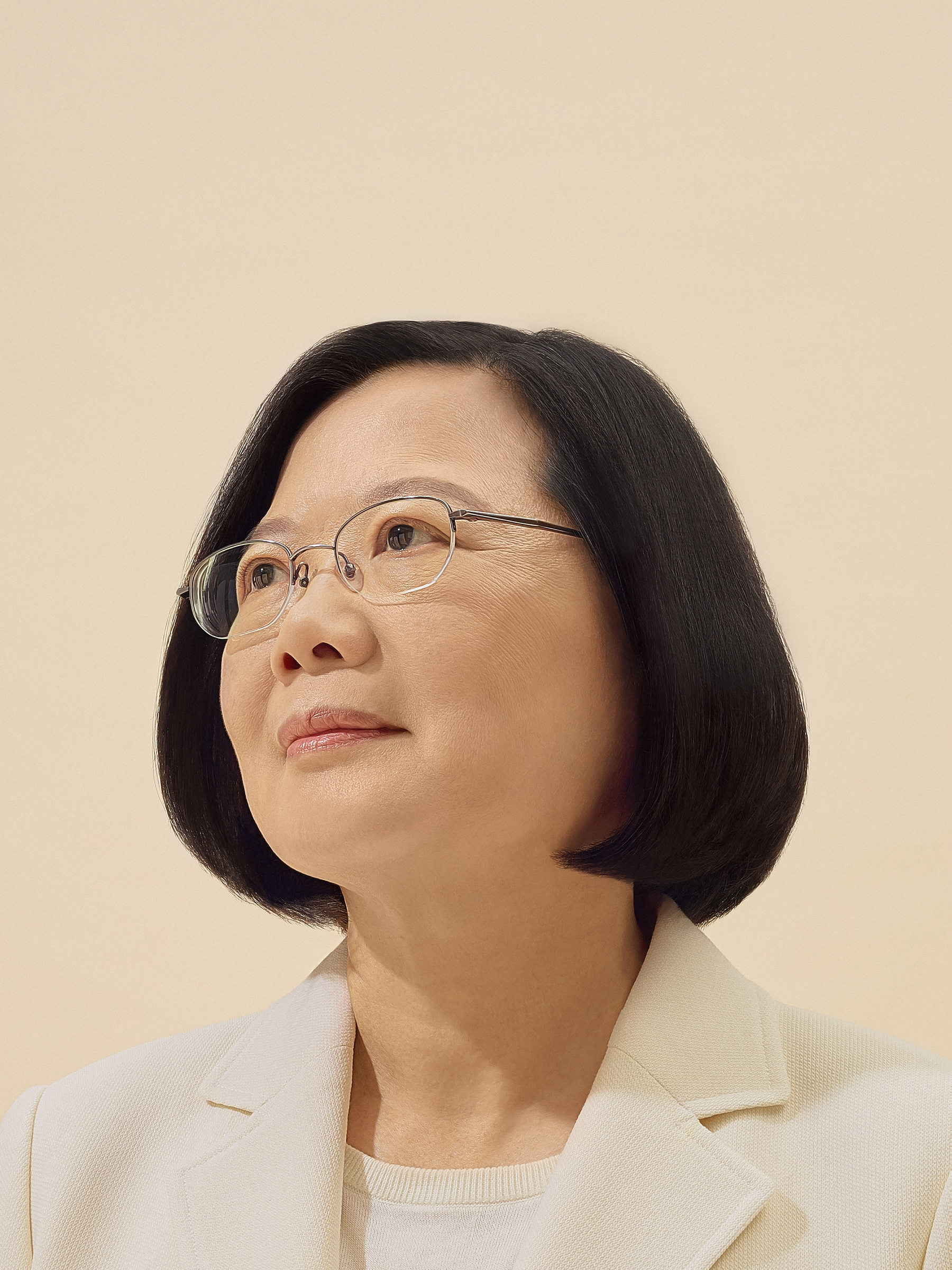 President Tsai, photographed in her Taipei office on Oct. 6.