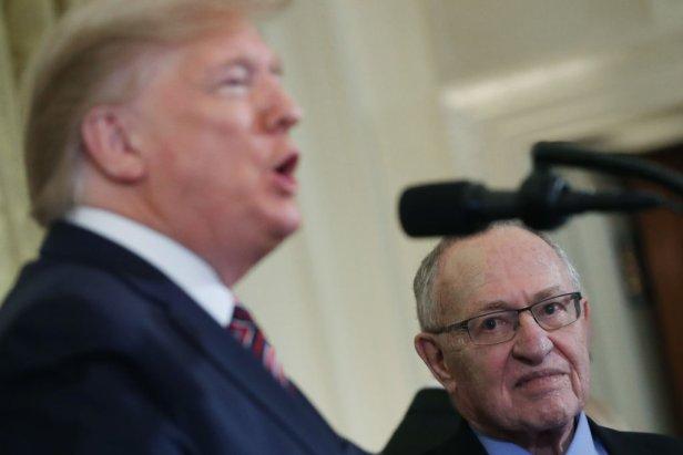 alan dershowitz impeachment