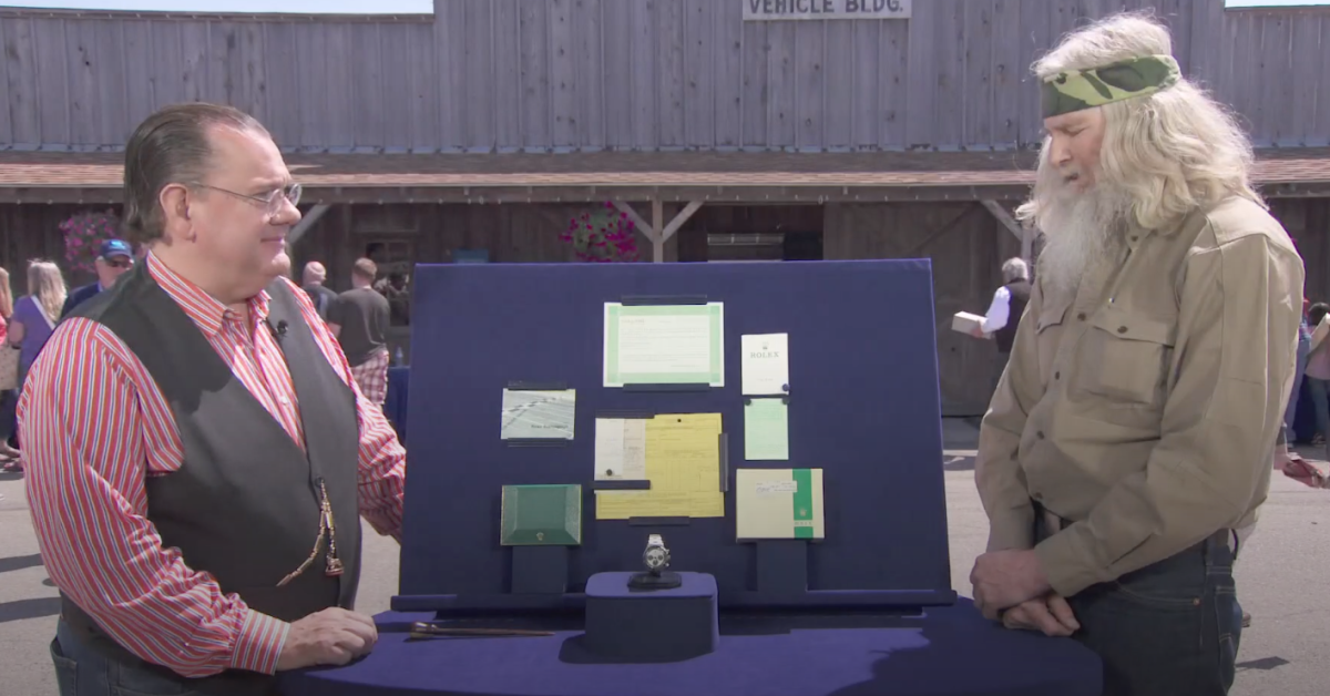 """""""Antiques Roadshow"""" Guest Collapses Over True Value of ..."""