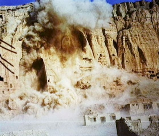 Taliban Destroy The Buddhas Of Bamiyan