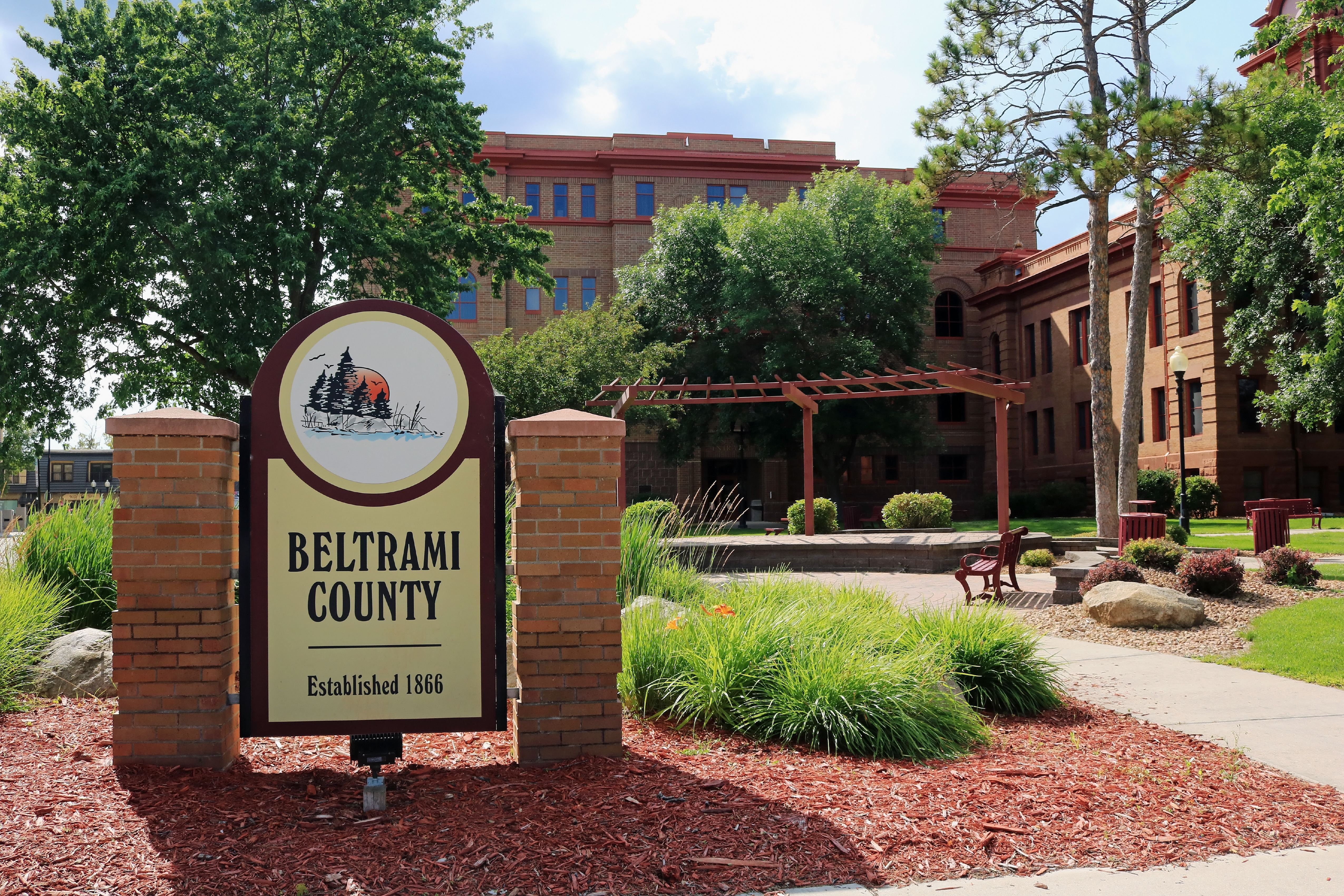 The Beltrami County courthouse in Bemidji, Minnesota.