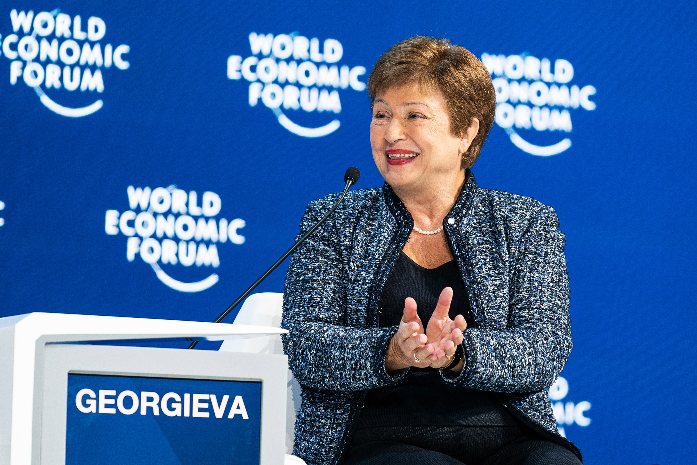 Georgieva took office as managing director of the International Monetary Fund in October