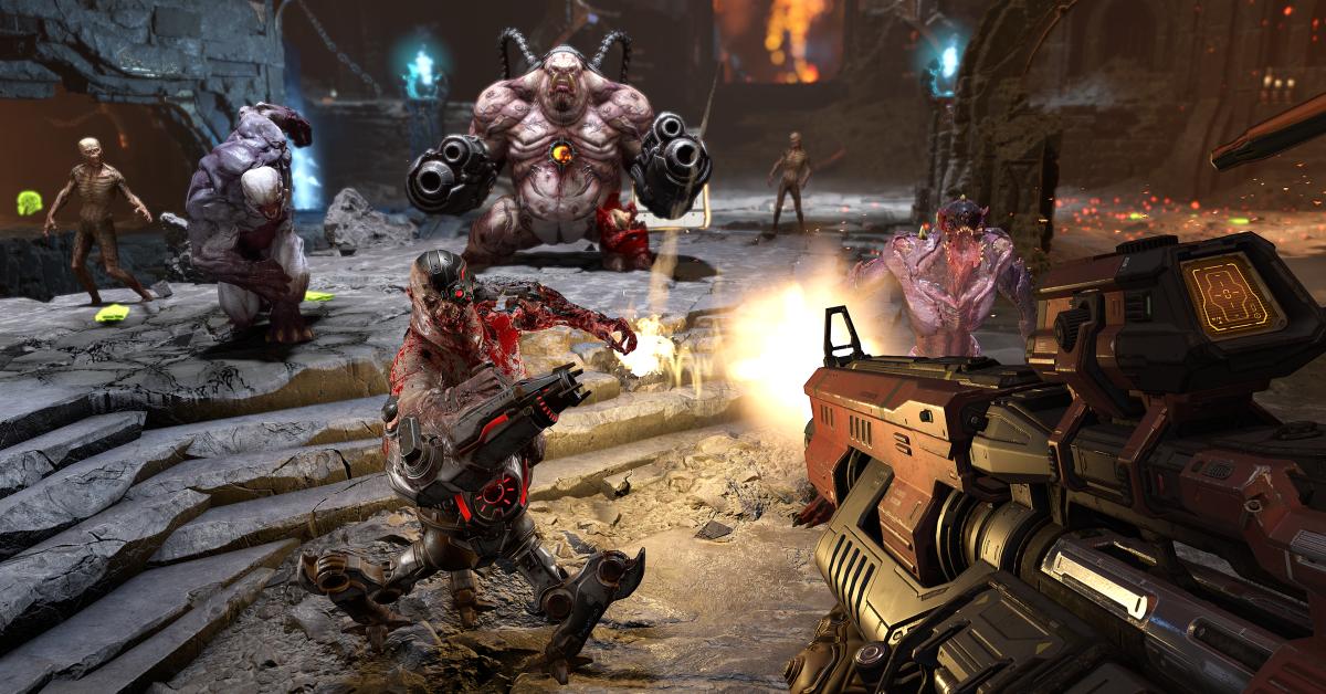 A new DOOM game is in the works: DOOM Eternal