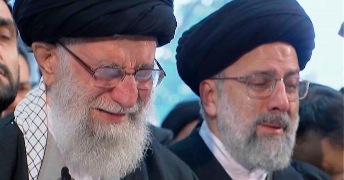 «Мы обещаем продолжить путь мученика Сулеймани». Огромные толпы скорбящих в Тегеране посещают похороны Касема Сулеймани thumbnail