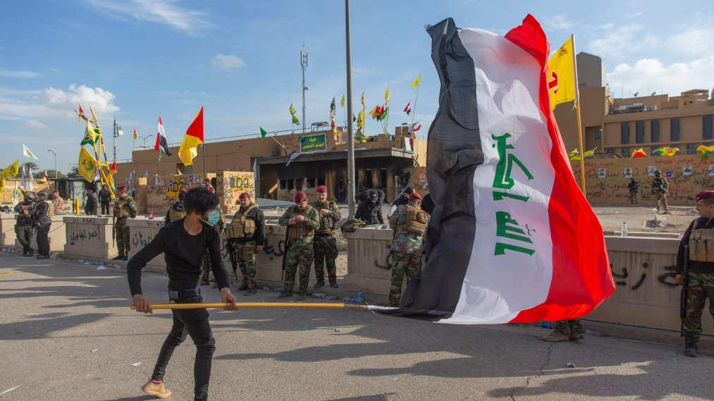Iran-Backed Militiamen Withdraw From U.S. Embassy in Baghdad, But Tensions Remain High