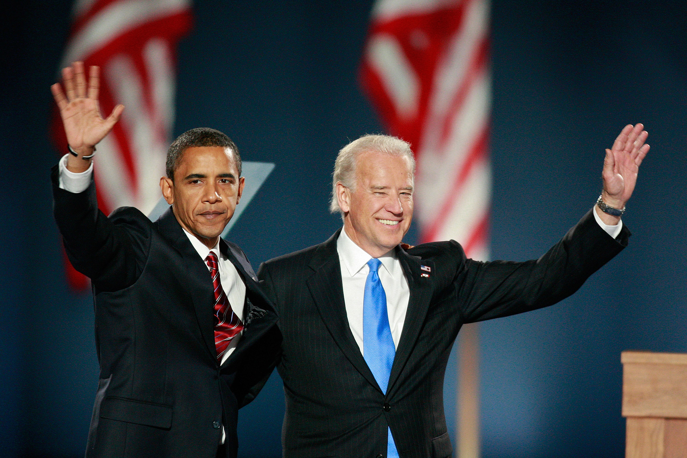Obama taps the senior Senator to join the Democratic ticket, and the Senator is elected Vice President in 2008