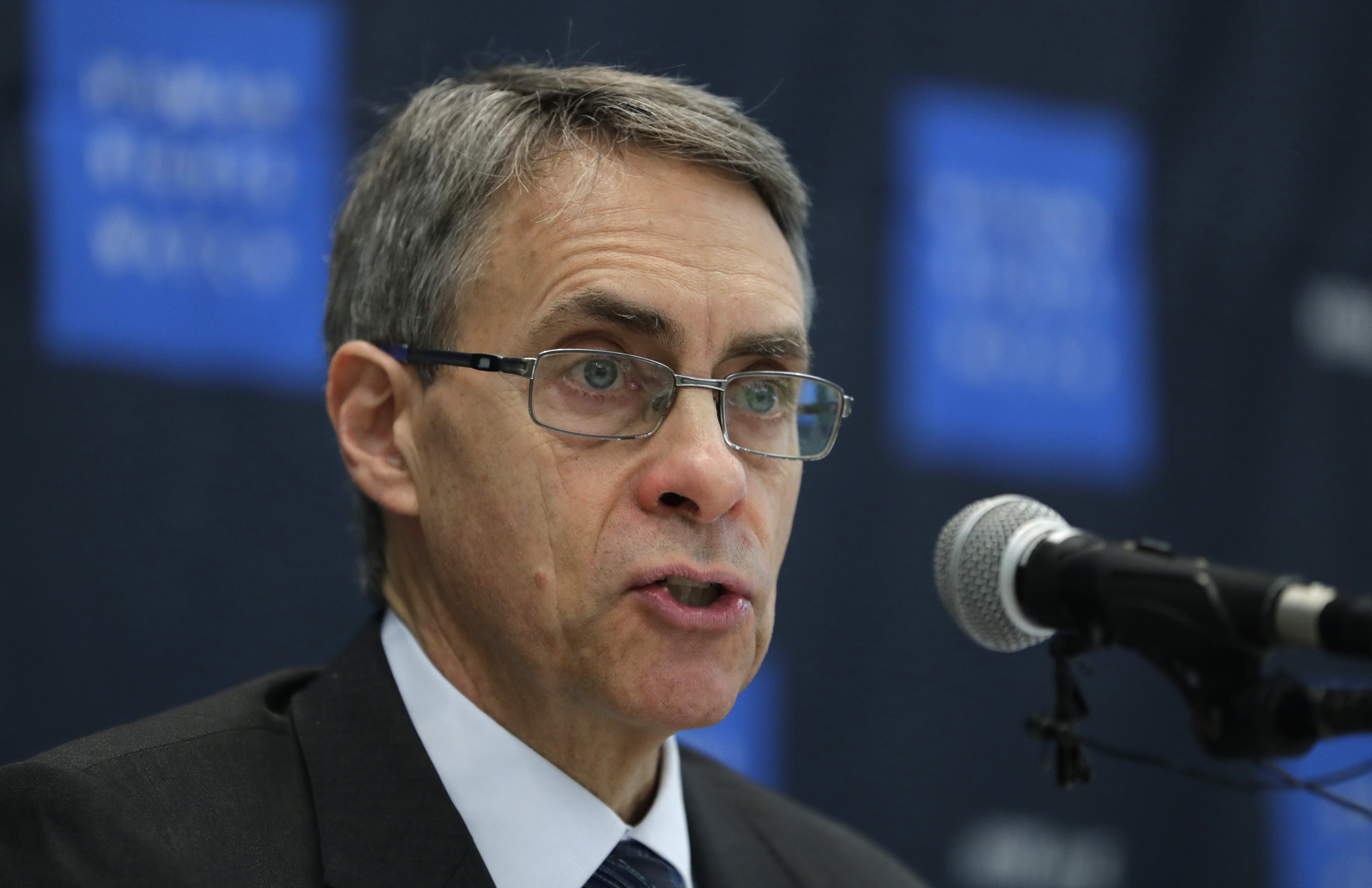 Kenneth Roth, Human Rights Watch's executive director, speaks during a news conference in Seoul, South Korea on Nov. 1, 2018.