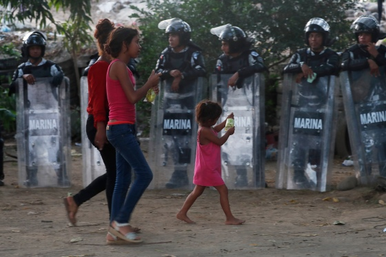 Mexico Central America Migrants