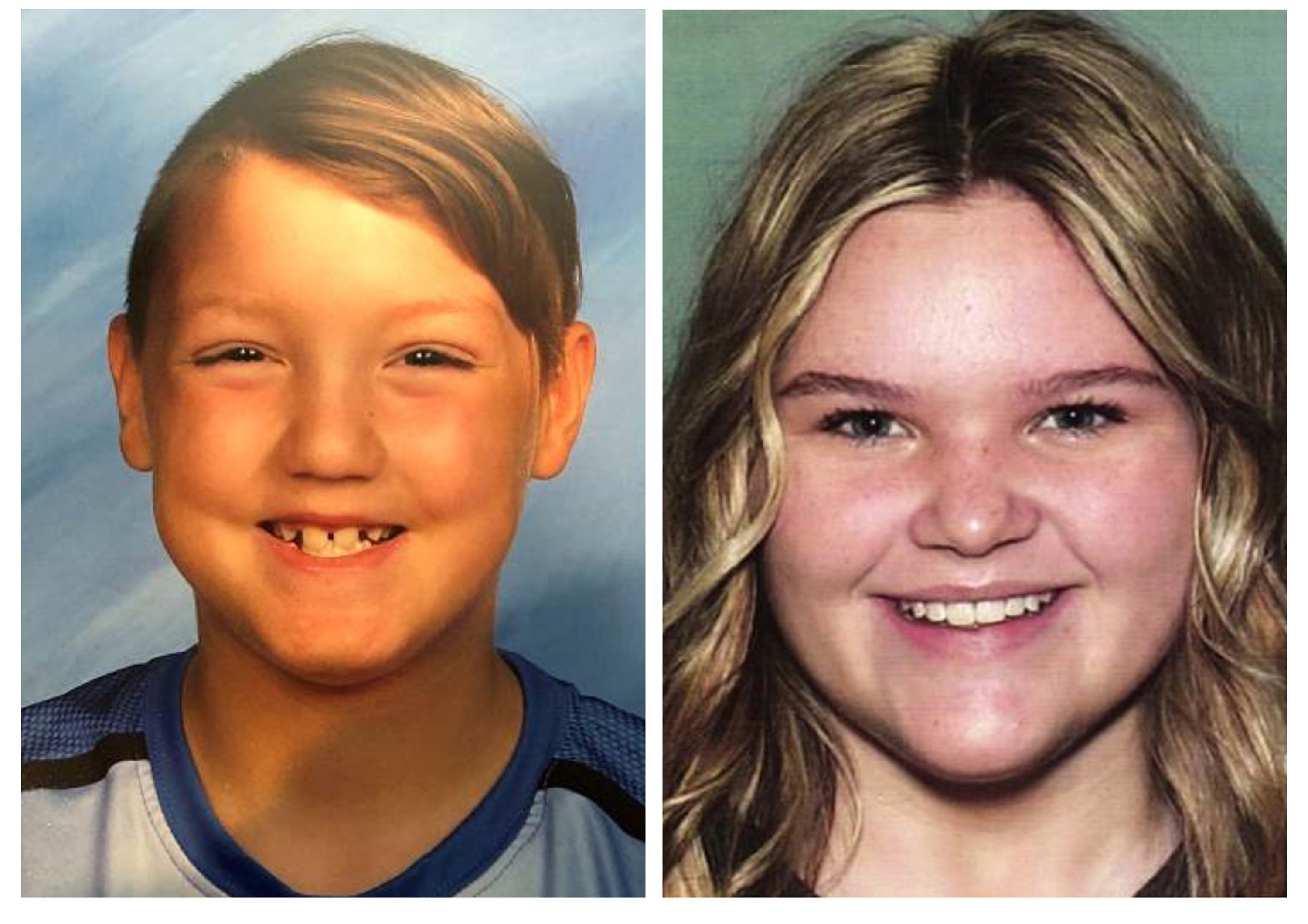 This combination photo of undated file photos, released by National Center for Missing & Exploited Children, show missing children Joshua  JJ  Vallow, left, and Tylee Ryan.