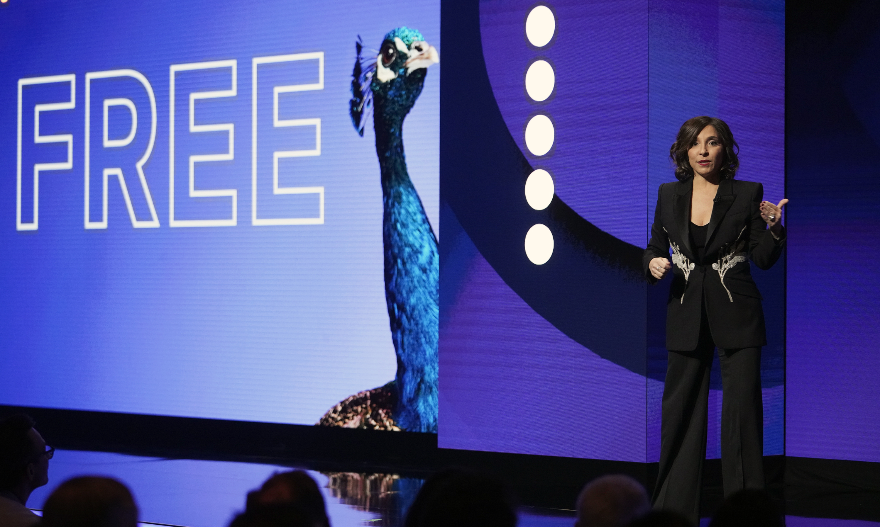 Linda Yaccarino, Chairman, advertising and client partnerships, NBCUniversal, at  Peacock Investor Day  in New York on Thursday, January 16, 2020.