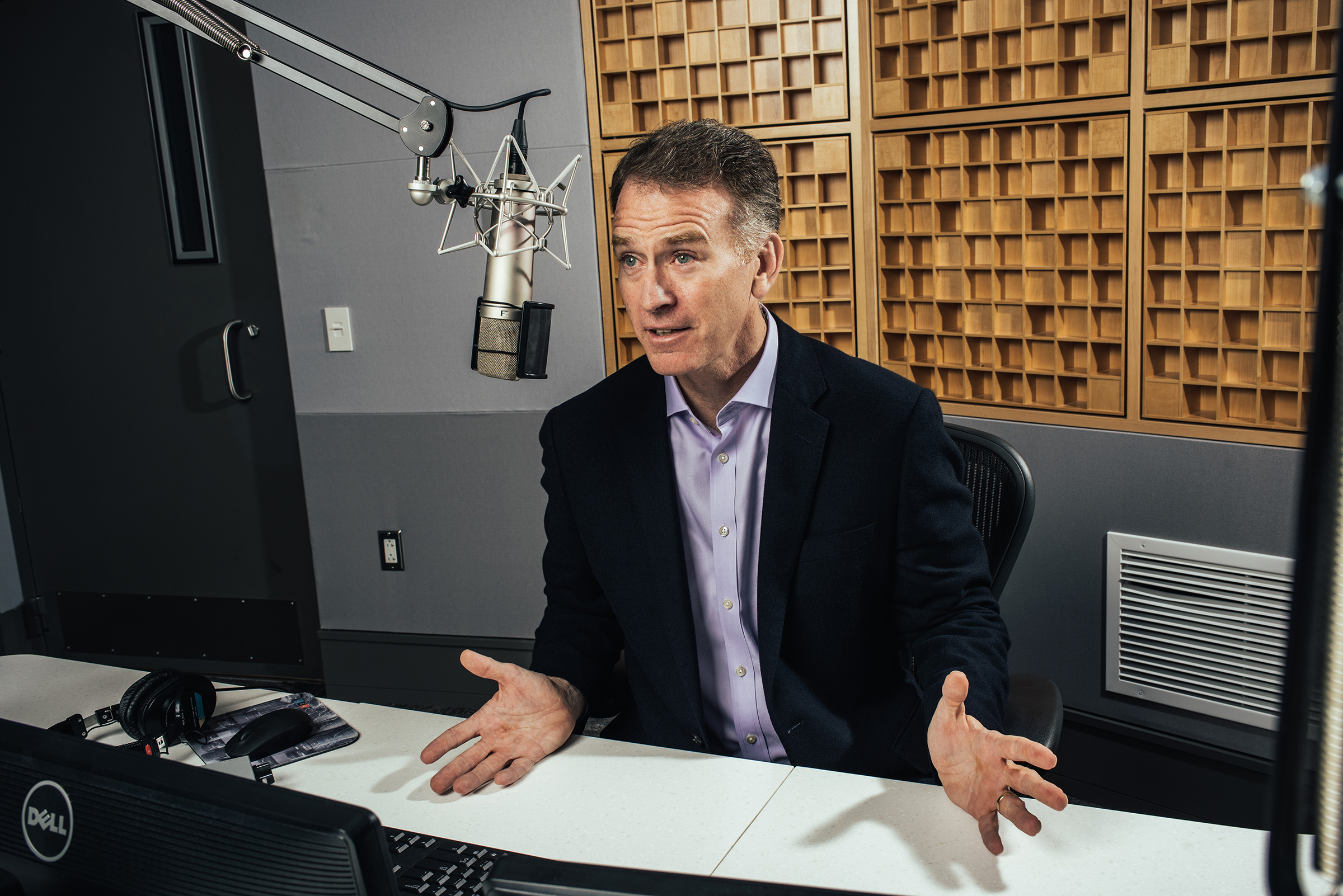 'As a journalist, I try to never have a final-final view of anything.'—Steve Inskeep, co-host of NPR's Morning Edition and author of Imperfect Union
