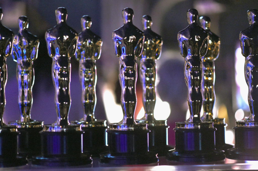In this handout provided by A.M.P.A.S., Oscar statues are seen backstage during the 91st Annual Academy Awards at the Dolby Theatre on February 24, 2019 in Hollywood, California.