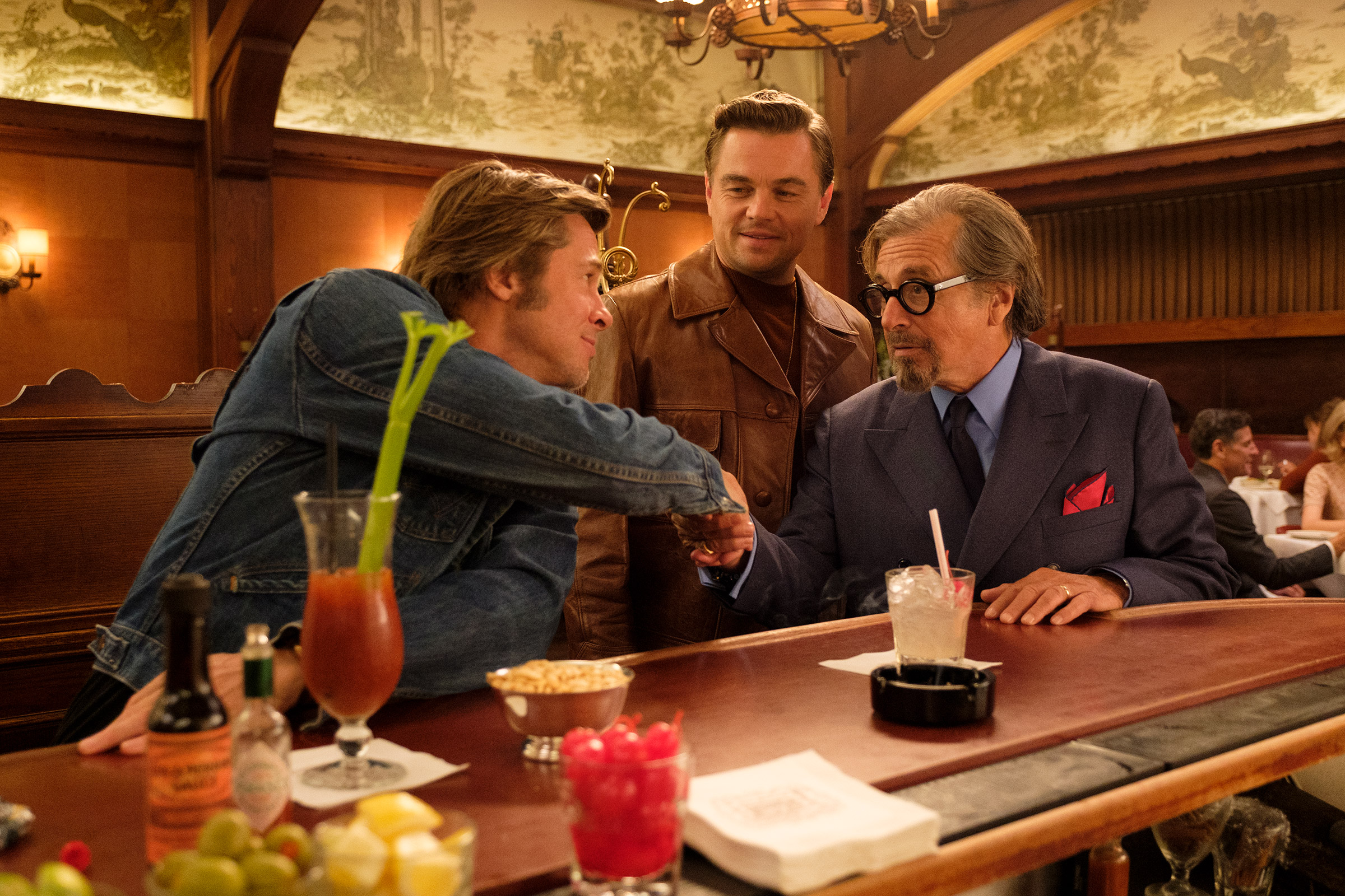 Both Brad Pitt and Leonardo DiCaprio were nominated for their performances in Quentin Tarantino's Once Upon a Time in ... Hollywood