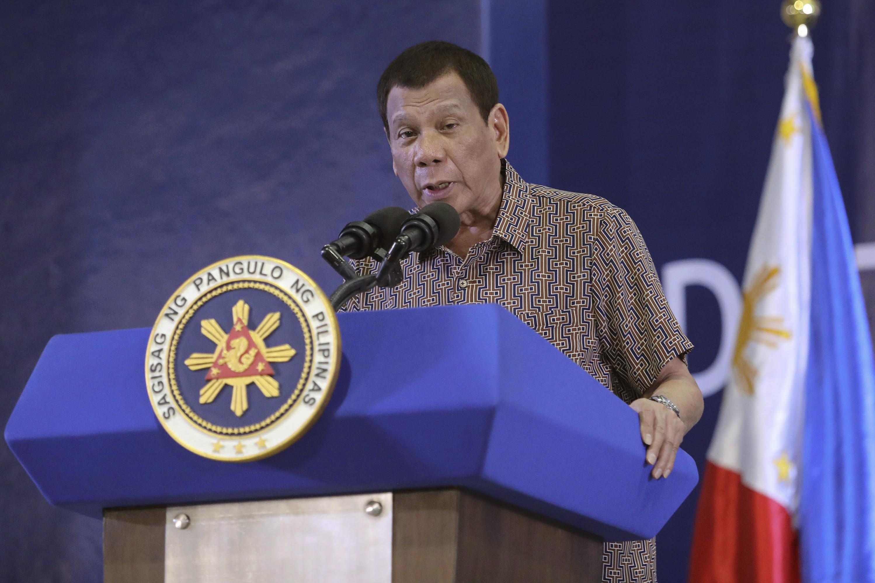 Philippines' Duterte Threatens to End U.S. Military Pact Over Senator's Entry Visa