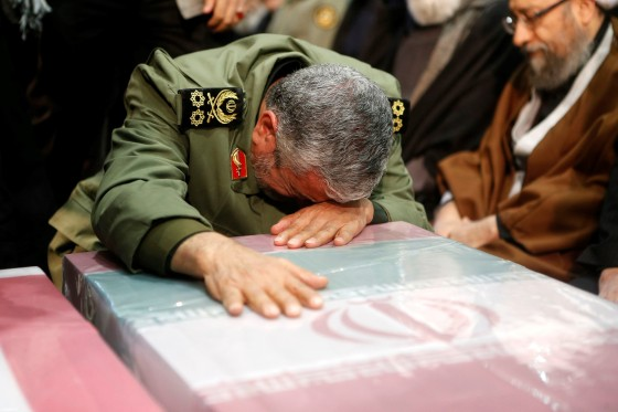 Funeral of Qasem Soleimani in Iran