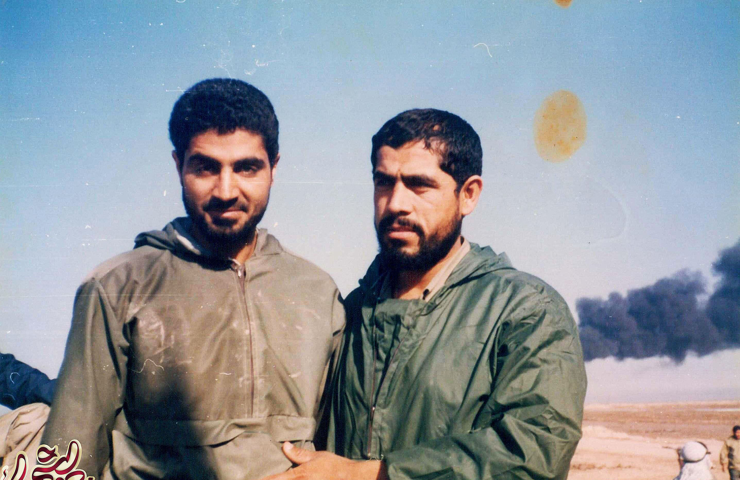 Qasem Soleimani during the Iran-Iraq war in the early 1980s.