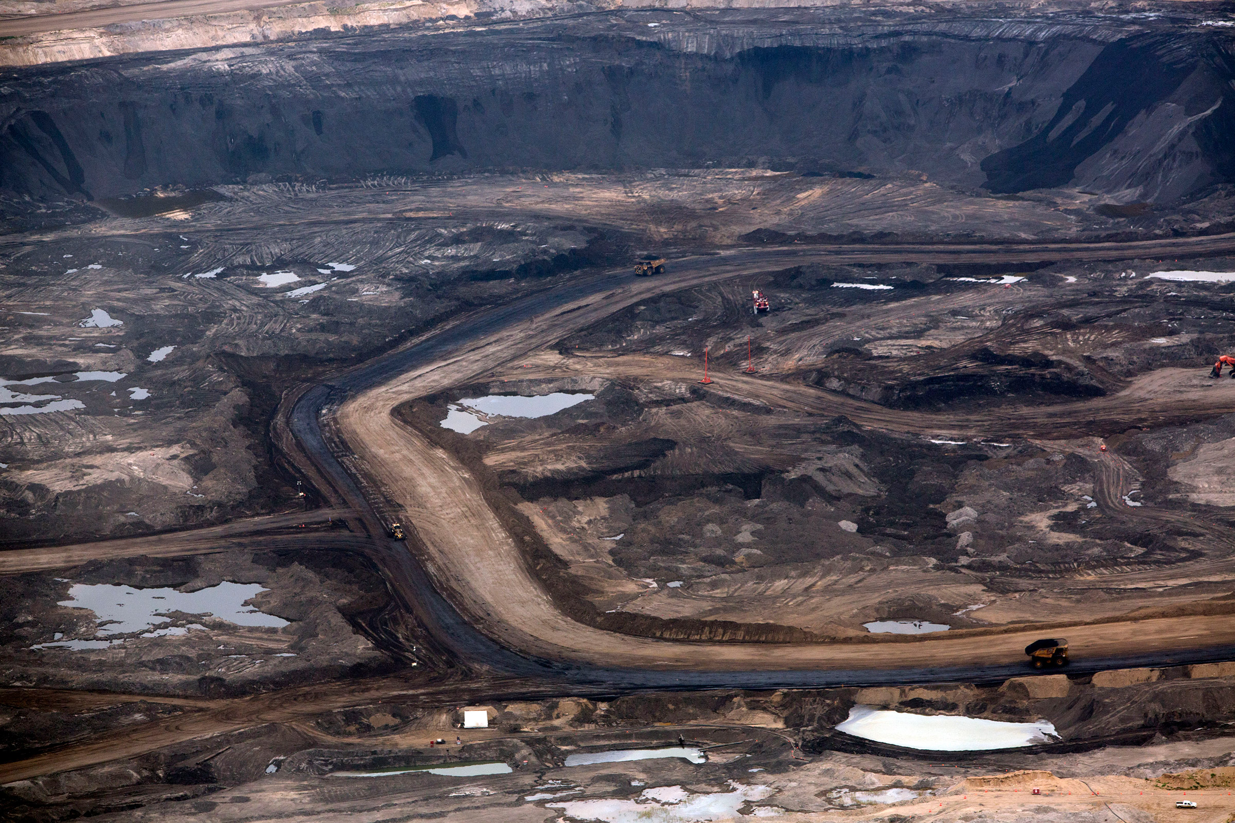 A Canadian oil-sand site in 2013 that Shell later sold