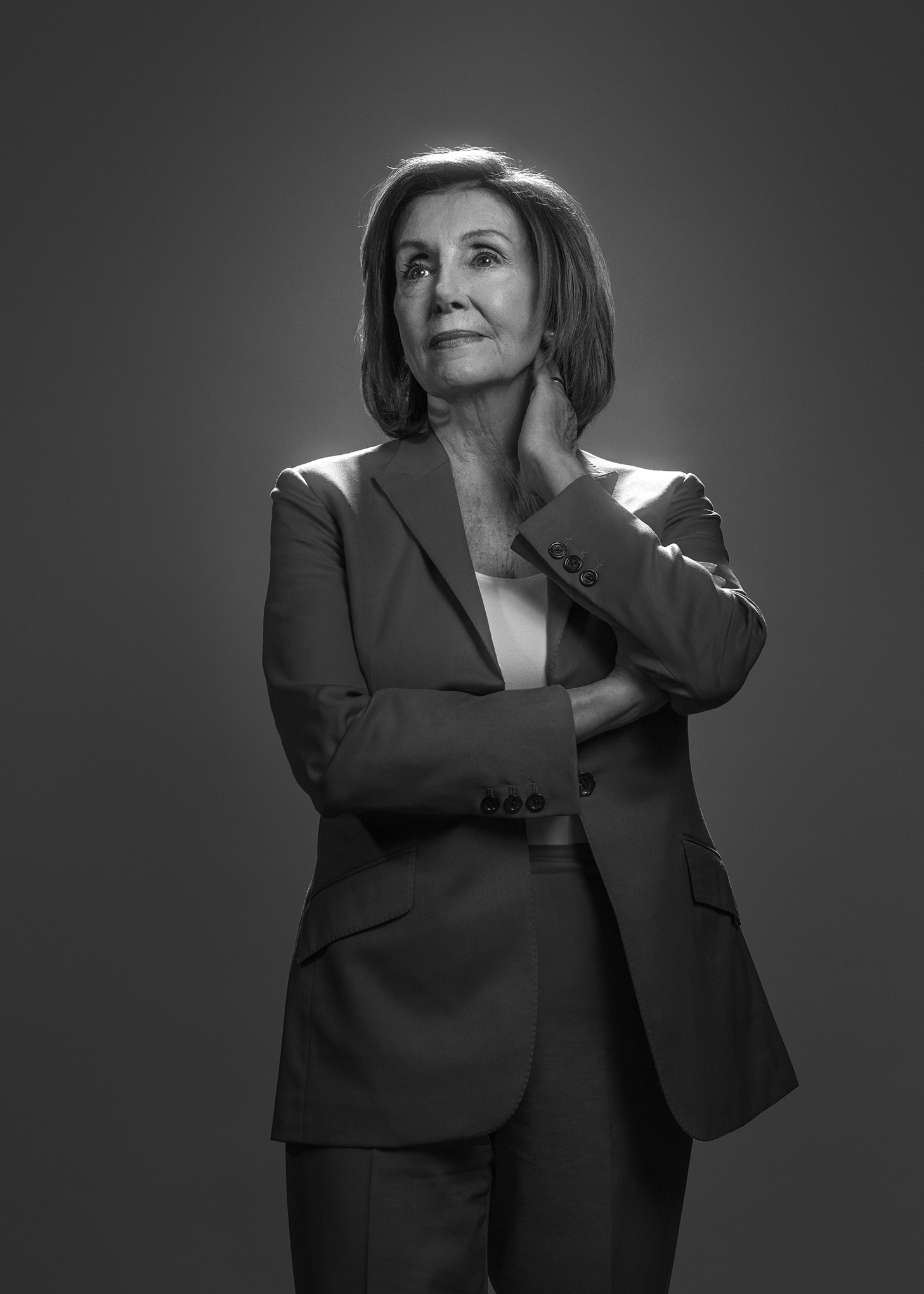 Pelosi in her office in the U.S. Capitol on December 9.