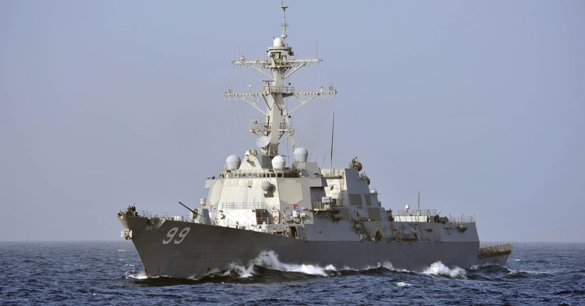 U.S. Warship 'Aggressively Approached' By Russian Ship in North Arabian Sea