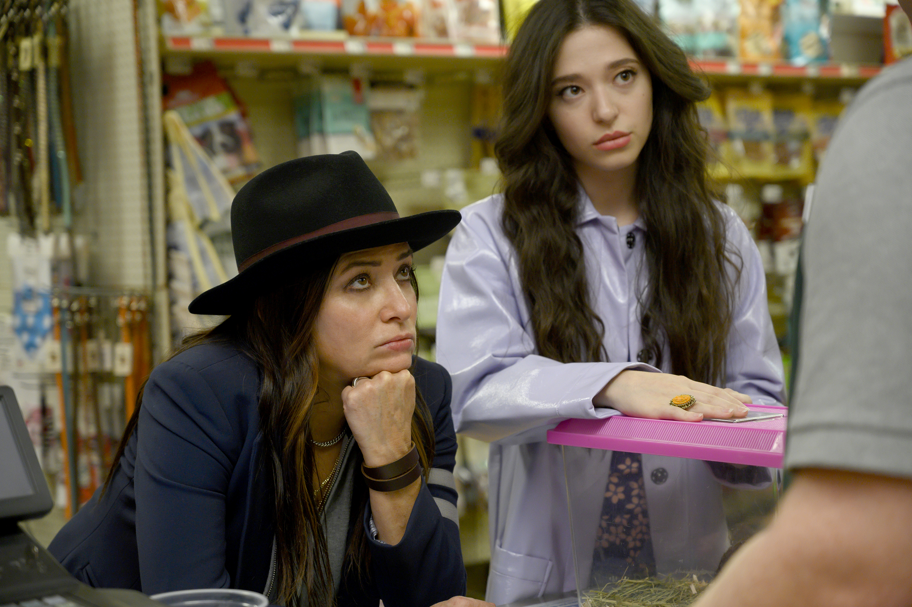 Pamela Adlon (left) and Mikey Madison in Season 4 of 'Better Things'