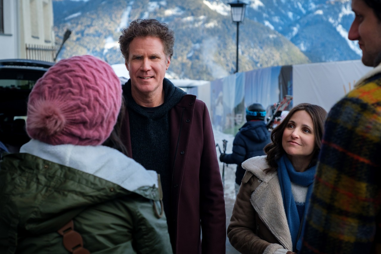 Will Ferrell and Julia Louis-Dreyfus in 'Downhill'