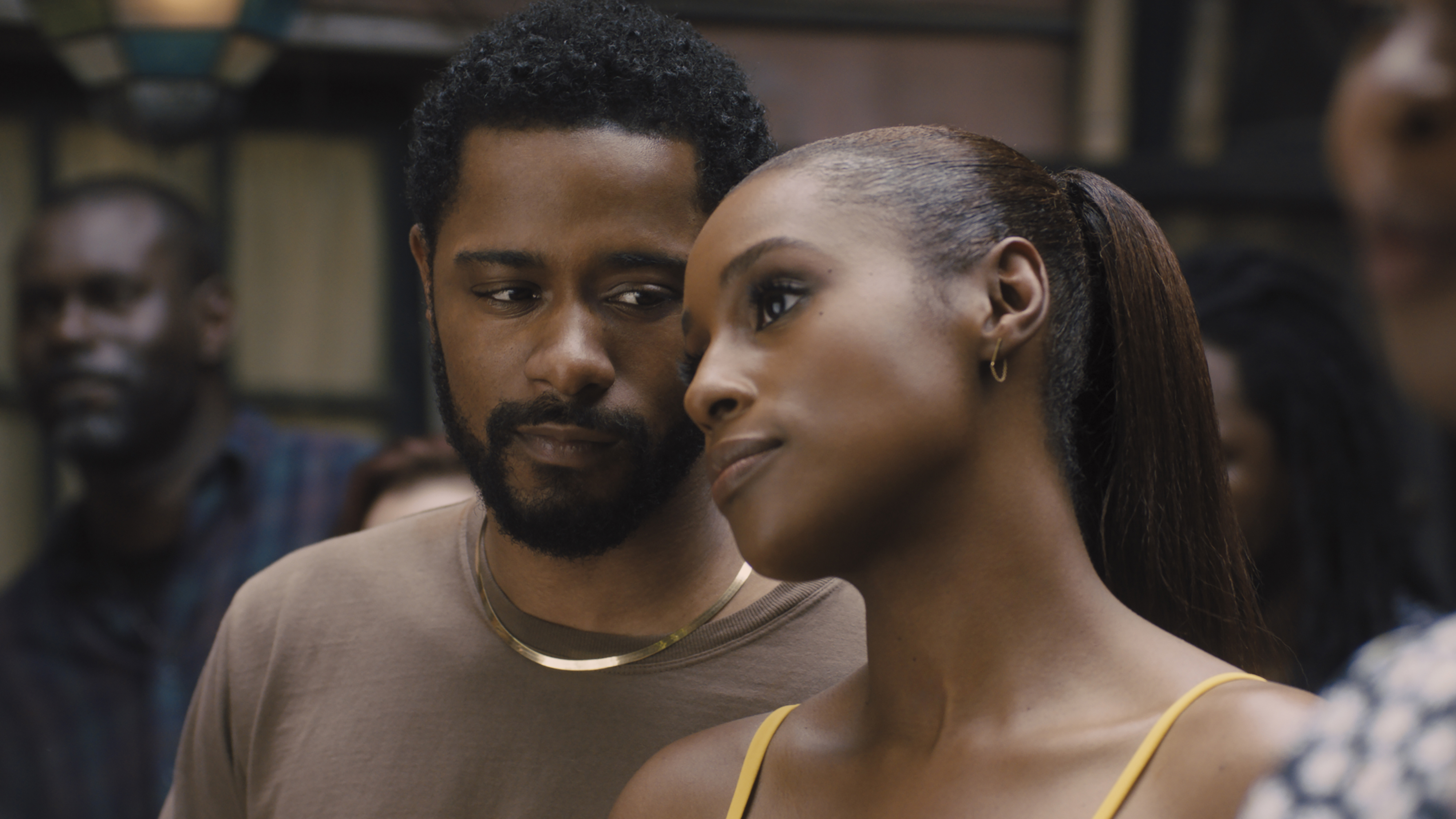 LaKeith Stanfield and Issa Rae in 'The Photograph'