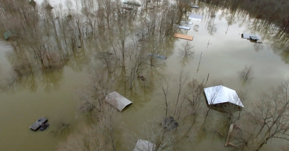 Mississippi and Tennessee Deluged With Near-Record Levels of Flooding. Here's What to Know