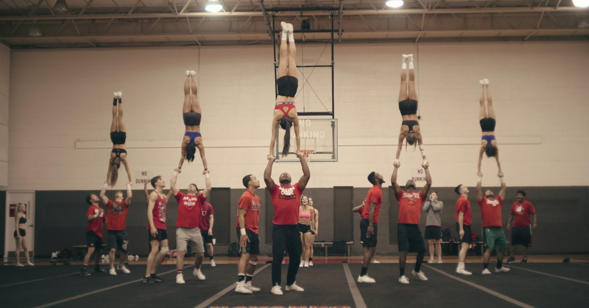 Cheer Shows Competitive Cheerleading Is Almost as Dangerous as Football. So Why Isn't It Officially Considered a Sport?