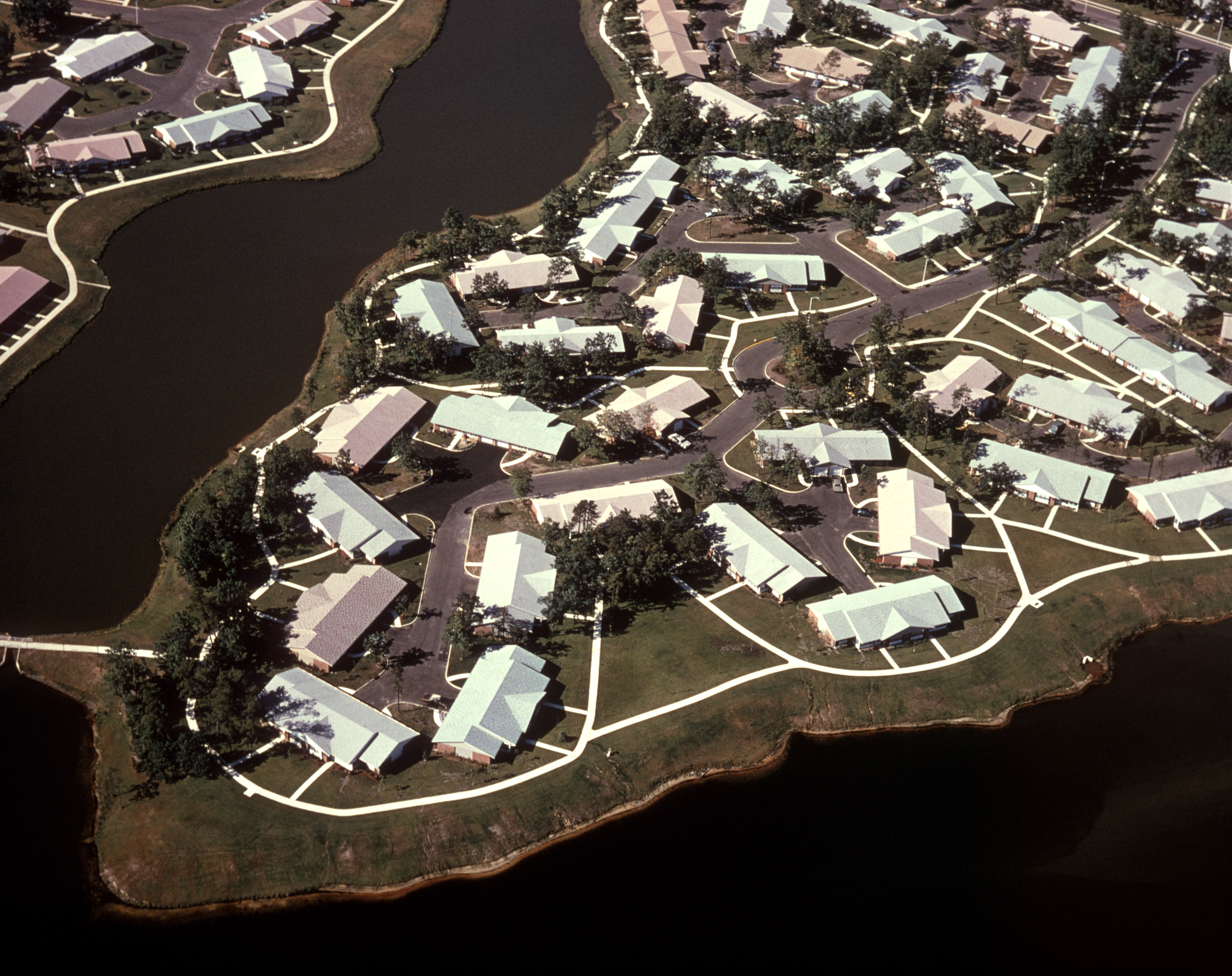 A Florida housing development in the 1970s