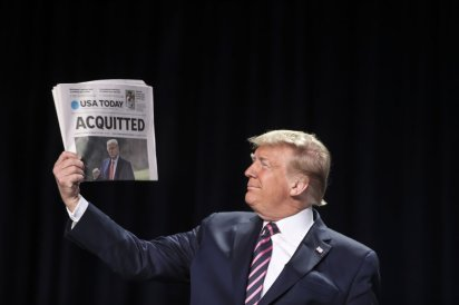donald trump impeachmints news