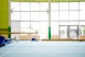 Empty Gym With Gymnastics Equipment